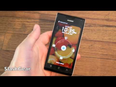 Huawei Ascend P1 unboxing