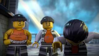 LEGO® City Policja z Więziennej Wyspy: Ucieczka z Więziennej Wyspy — filmik