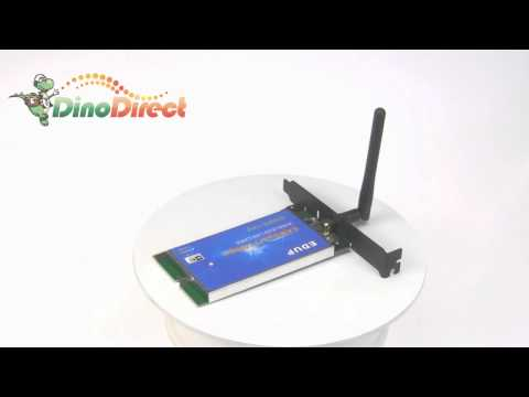 54M Wireless 802.11g PCI Network LAN Card Adapter  from Dinodirect.com