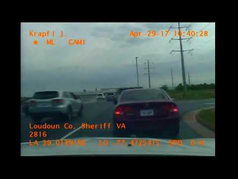Beware of  Loudoun County Sheriff's Officers and Virginia State Trooper