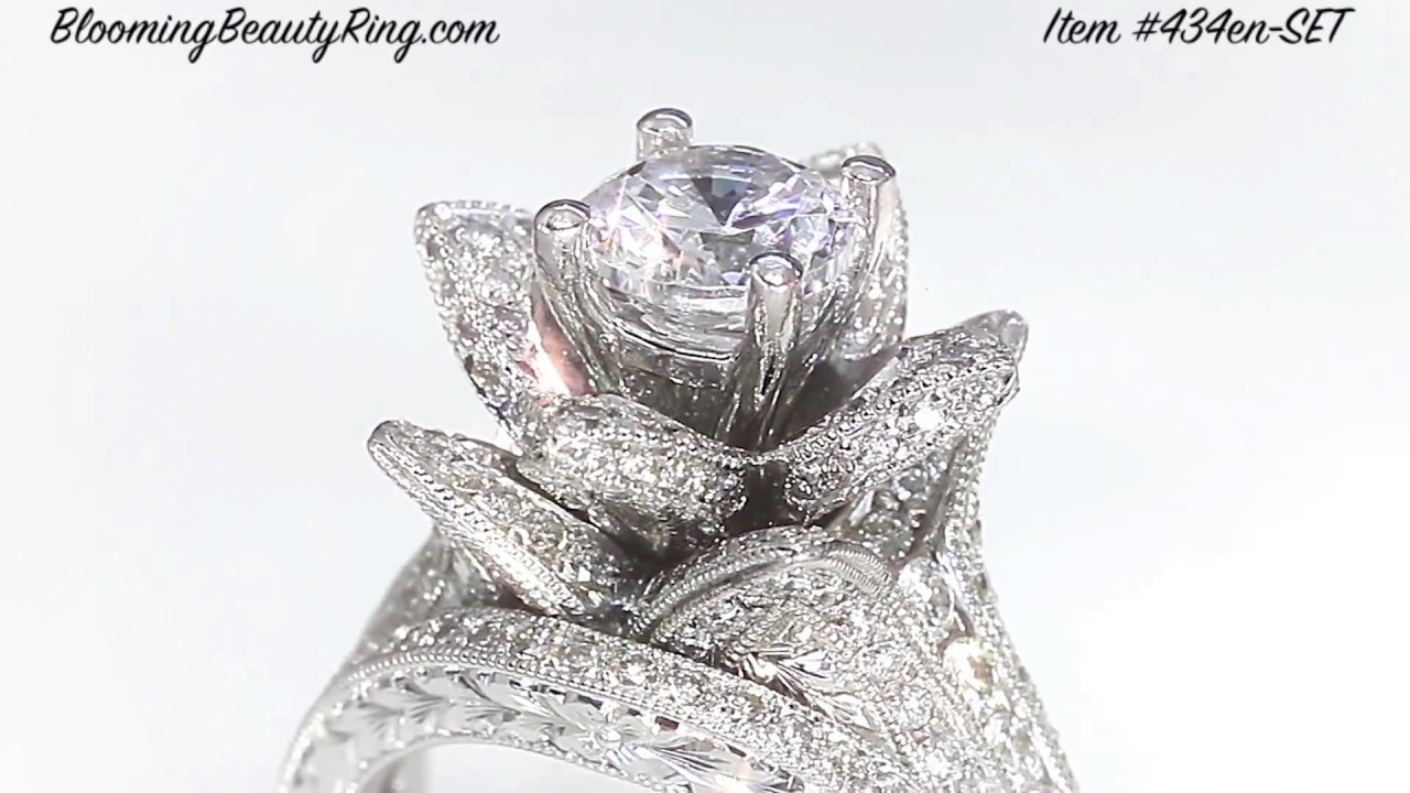 platinum ring engagement diamond side inlay denver partial rings bands stones jewelers bezel with unique princess cut trillion portfolio cronin