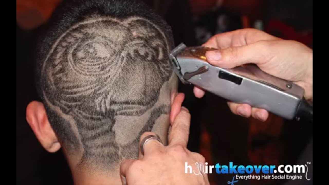 Amazing Barber Designs The Best Stencil Art Youtube