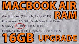 4GB to 16GB RAM Upgrade (MacBo…