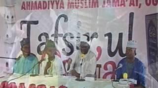 Tafsirul Quran Dr  Bello Ogun 2017 1 to 4