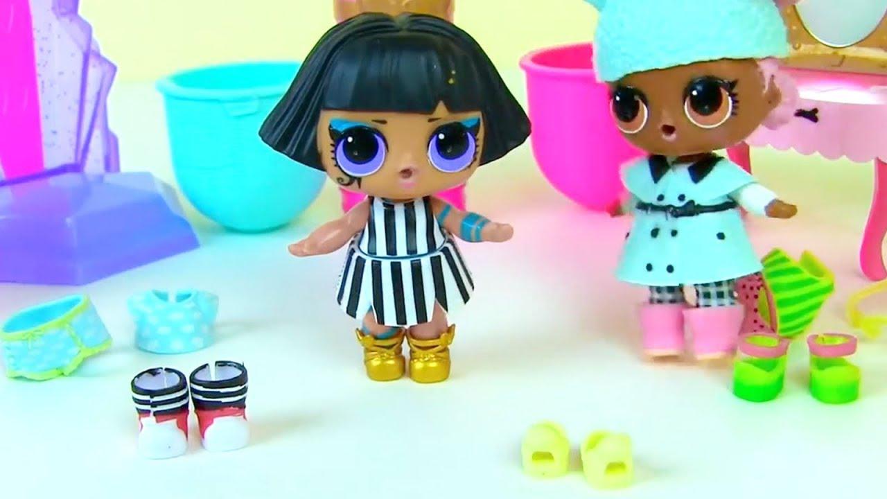 Куклы Лол Загорают и Одевалки! Лол Мультик! Видео для ...