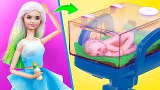 11 Pomysłów DIY dla Lalek Barbie i LOL Surprise/ Pomysły dla Lalek w Szpitalu