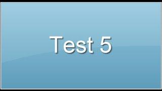 test 5. Intelligence verbale-linguistique. Epreuves Concours, préparer concours fonction publique