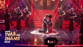 K. M. Fialová jako Rihanna & Coldplay