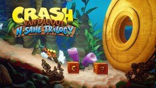 CRASH BANDICOOT 3 no PS4 - O INÍCIO!!! (Gameplay no PS4 Pro)