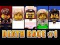 LEGO YouTube DEATH RACE 1 2 mit Gronkh, Sarazar, lookslikeLink, Phunk Royal und MafuyuX