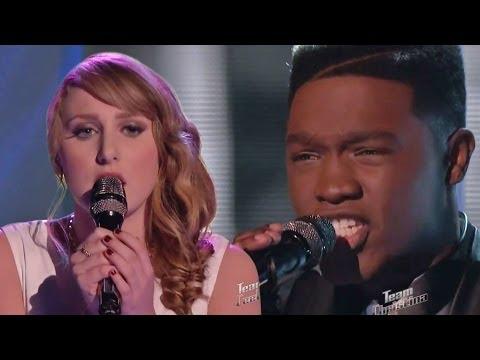 """""""The Voice"""" Top 12 Perform Matthew Schuler """"Hallelujah"""" & Caroline Pennel """"Wake Me Up"""" 5x16 VOICECAP"""