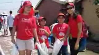 Eton-Manila goes to Gawad Kalinga Baseco