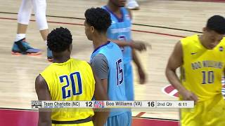 2017 11th Grade AAU Gold Super Showcase Final - Team Charlotte UAA (NC) vs. Boo Williams 17U (VA)