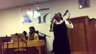 sis letha wisdom sings to god be the glory
