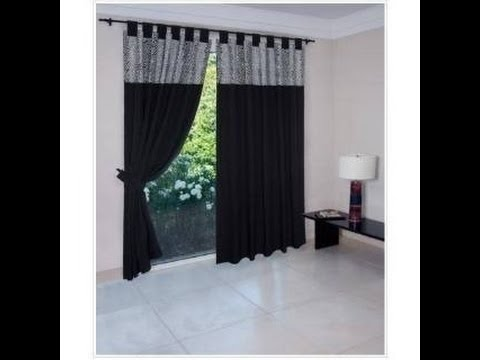 Como hacer cortinas modernas youtube for Como hacer cortinas de salon