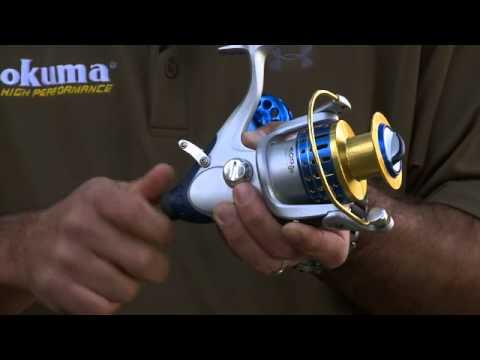 Okuma Baitfeeder Spinning Reels.m4v