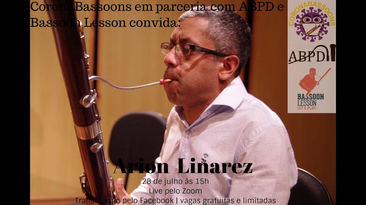 Live com o professor Arion Liñarez