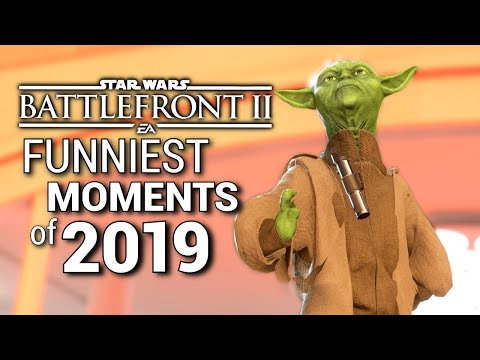 Star Wars Battlefront 2 - Funniest Moments Of 2019