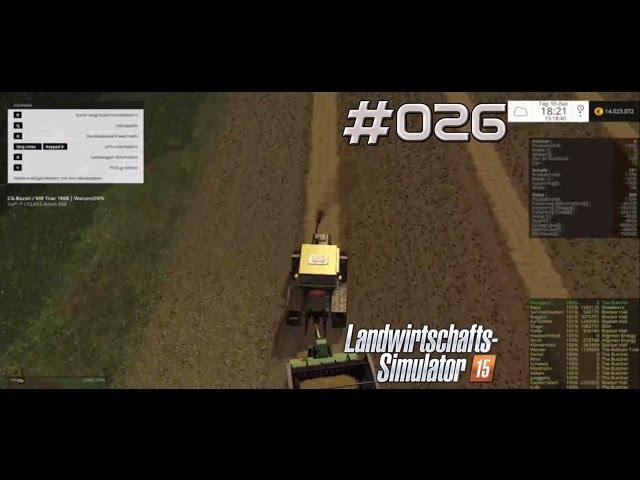 Let's Play Landwirtschafts Simulator 2015 | Stroh Sammeln auf Green River | Folge #026