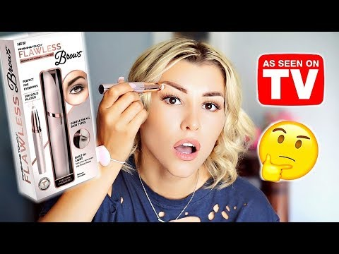 DOES IT REALLY WORK? Finishing Touch Flawless Brows