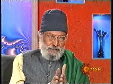Prof.M.D.N's Last TV Interview Part 1