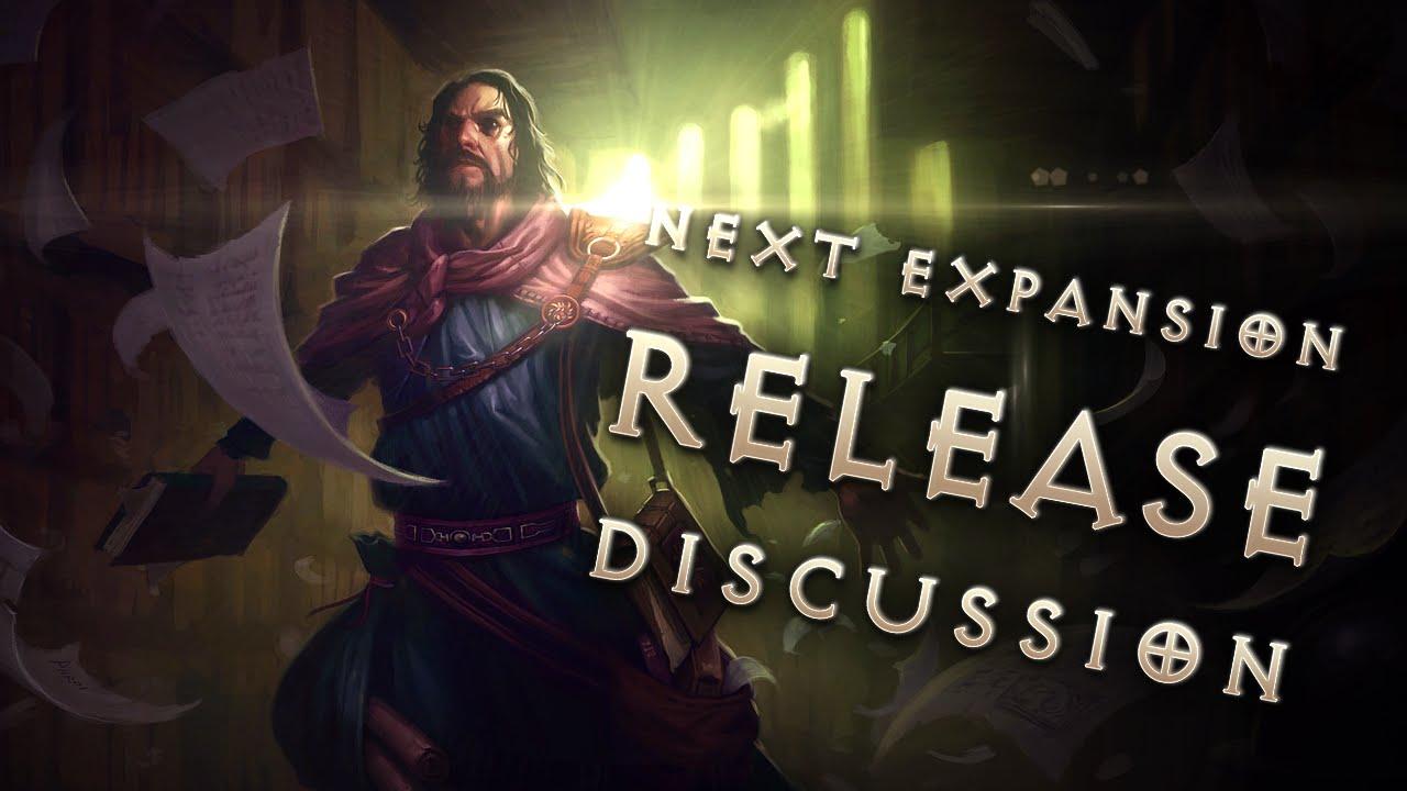 Diablo 3 Expansion 2 Announcement Release Date Discussion