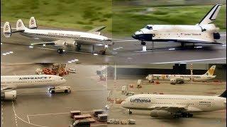 Shuttle, Airbus, Super Conny - Knuffingen Airport im Miniatur Wunderland