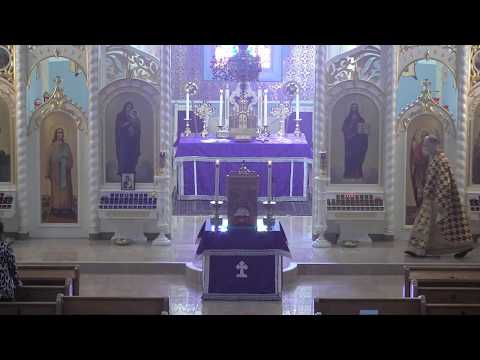 Divine Liturgy – March 22, 2020