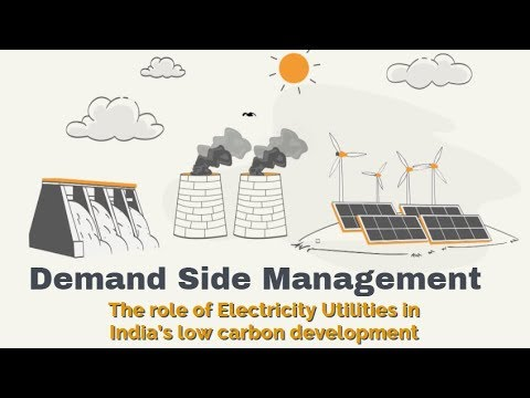Demand Side Management: The role of Electricity Utilities in India's low carbon development