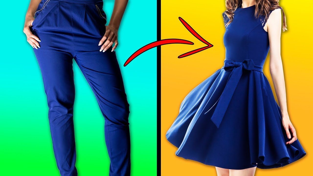 28 CREATIVE IDEAS TO REMAKE OLD CLOTHES AND SAVE YOUR MONEY