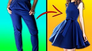 28 CREATIVE IDEAS TO REMAKE OLD CLOTHES AND SAVE YOUR MONEY thumbnail