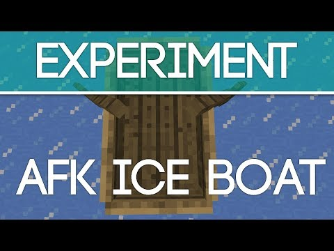 Minecraft: How Fast Does An Ice Boat Really Go?