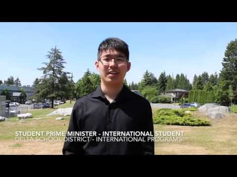 Delta School District - International Programs - Student Prime Minister 2016