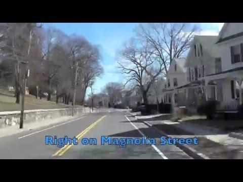2017 Mill City Triathlon Run Course Lowell Massachusetts