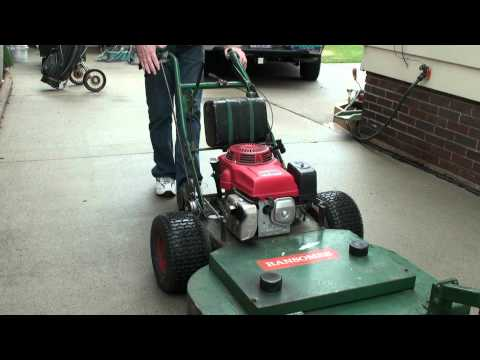 "Ransomes Bobcat 36"" deck with upgrade Honda 11HP engine"