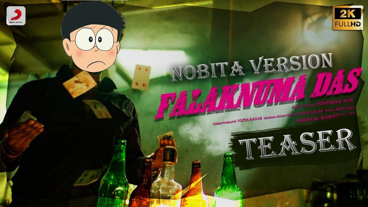 Falaknuma Das Official Teaser Nobita version   Vishwak Sen   Vivek Sagar   Tharun Bhascker