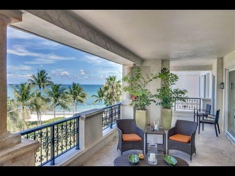 Sunny Oceanside Residence in Miami, Florida