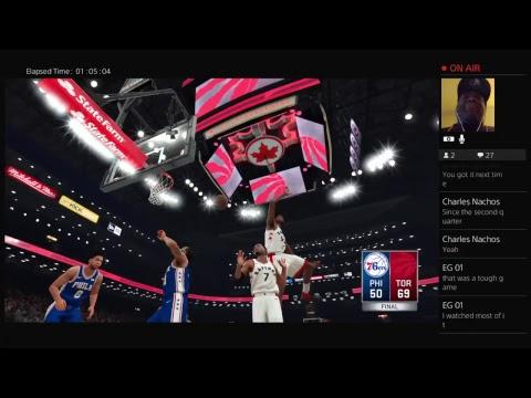 GAME 3 PHILADELPHIA 76ERS AT TORONTO RAPTORS THE NBA SEASON TWO 2017
