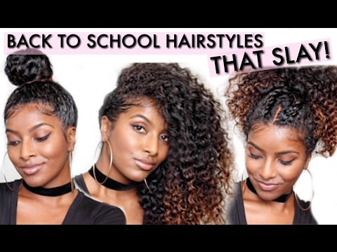 CURLY Hairstyles That SLAY! | naturalneiicey