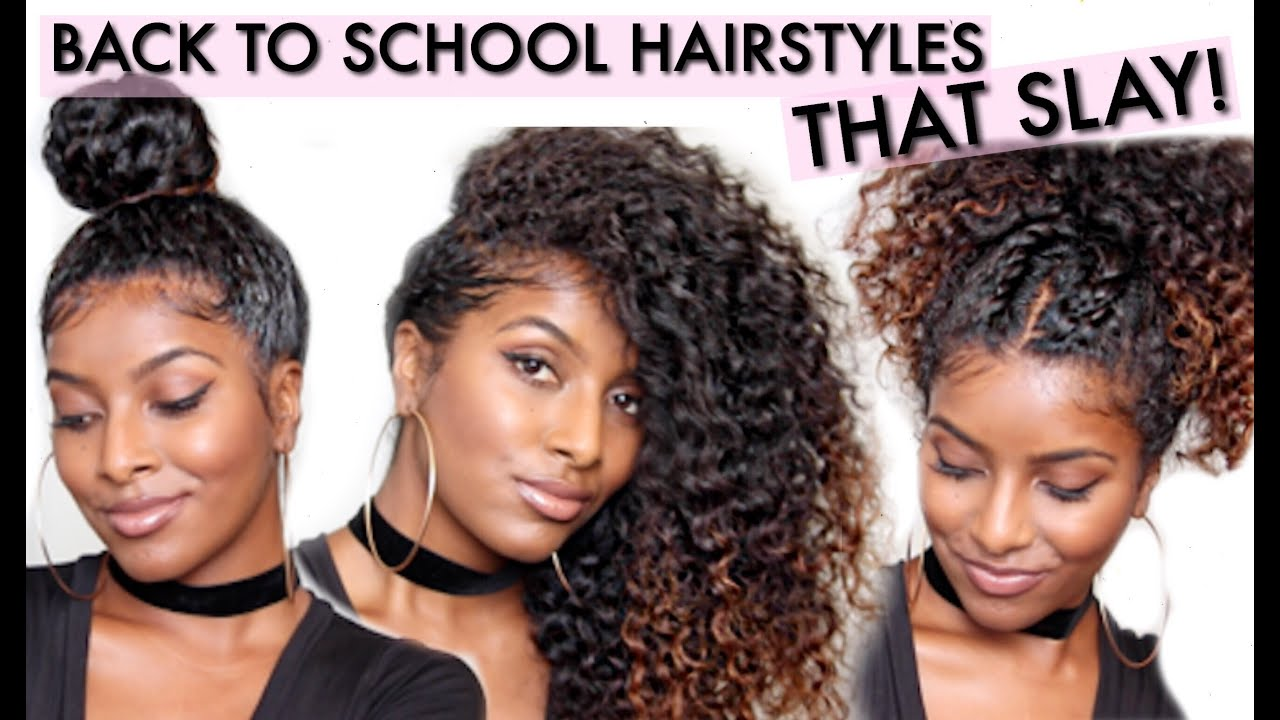 CURLY Hairstyles That SLAY