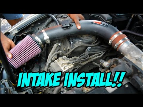 How to install an intake on  a Lexus IS300 – #PROJECT300