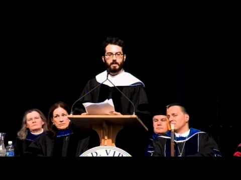 Jonathan Safran Foer's Commencement Address at Middlebury College