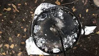 Dutch oven bread in a campfire with Fugal RV Gal
