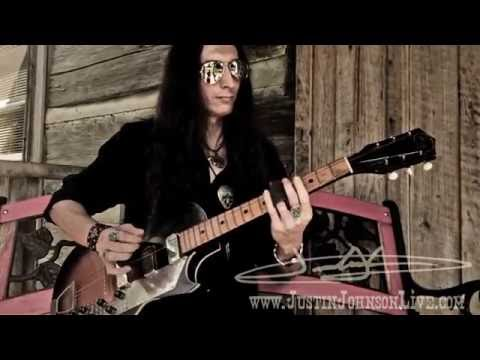 """""""Sunset Blues"""" by Justin Johnson - Performed on a Vintage Kay Value Leader"""