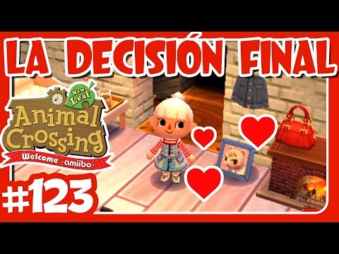 LA DECISIÓN FINAL #123 ANIMAL CROSSING NEW LEAF WELCOME AMIIBO