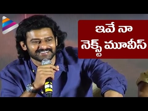 Thumbnail: Prabhas Reveals His Movies After Baahubali 2 | Rana | Anushka | Tamanna | #Baahubali | SS Rajamouli