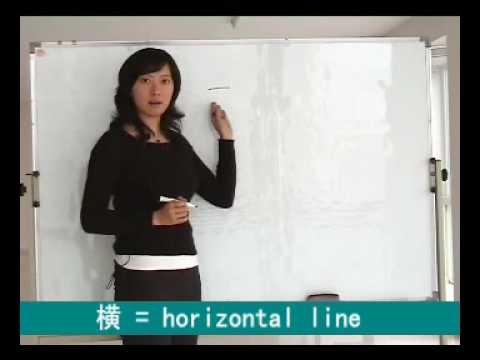 Learn to write Chinese Characters - Strokes