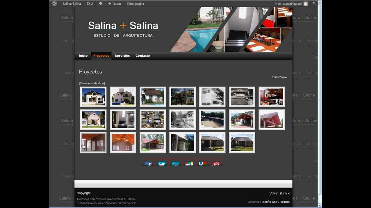 Como Publicar Fotos en mi Página Web? Video Tutorial - YouTube