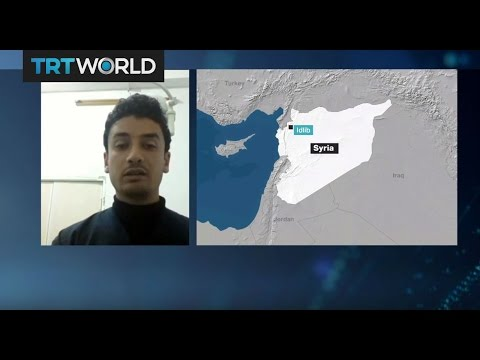 Idlib's medical doctor Mohammad Mansour talks to TRT World about the gas attack in Syria