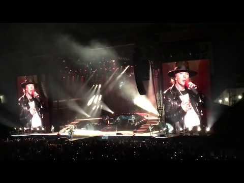 Guns N' Roses - Black Hole Sun | El Paso, Tx 9/6/2017